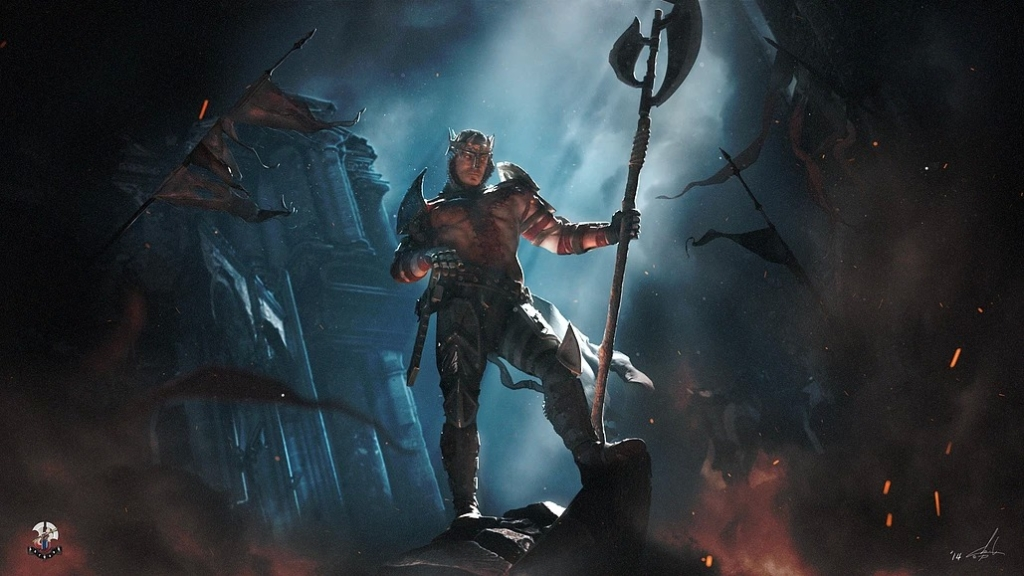 Dante, o guerreiro