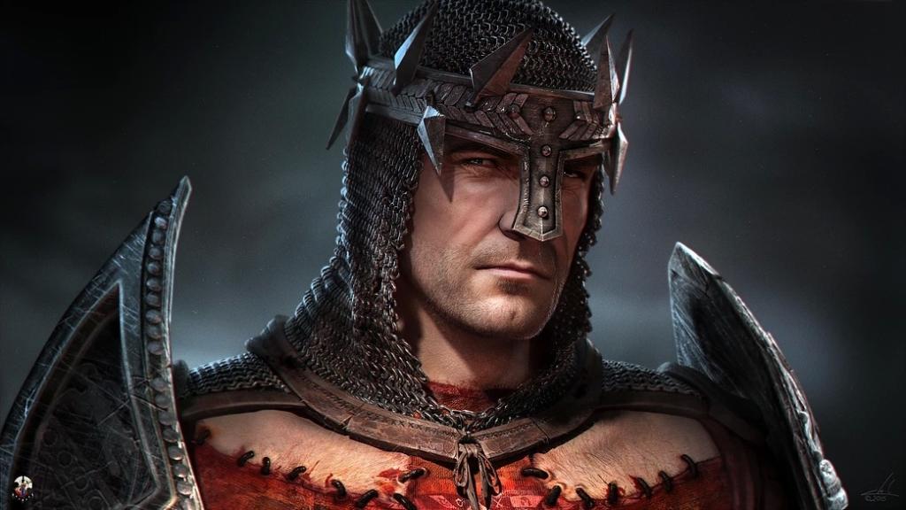 Dante, de perfil