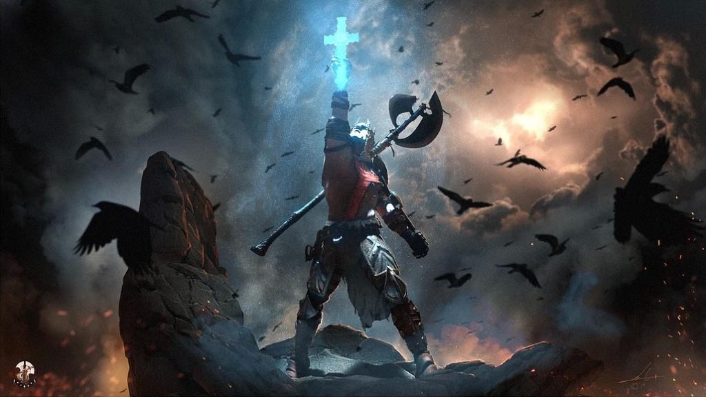 Outra do Dante, o guerreiro