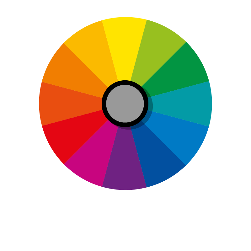 Cor cinza